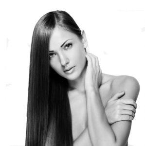 cabello resplandeciente