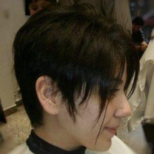 corte de dama cabello corto despues 1 1