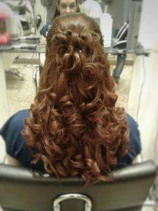 peinado recogido para fiesta