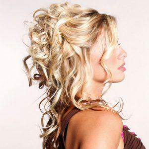 peinados de media cola