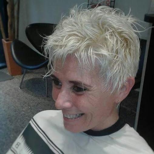 cabello corto con volumen