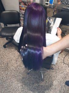 corte brillo sedosidad para cabellos largos