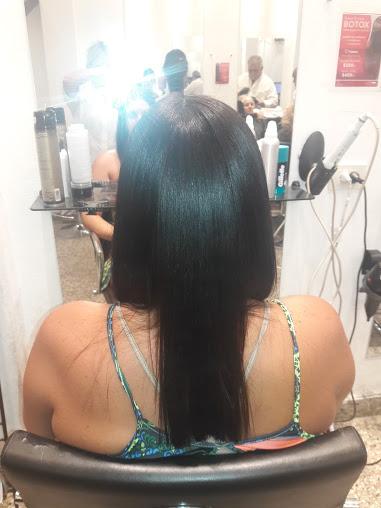 peinado alisado