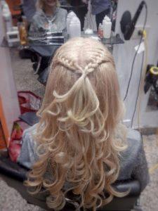 peinado recogido para eventos