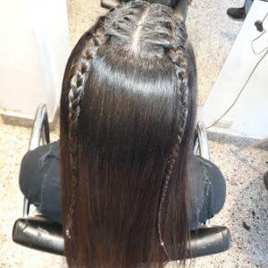 peinados juveniles para eventos