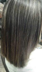 brillo en el cabello