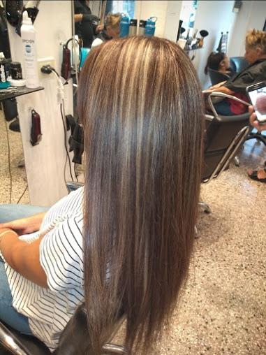 corte de cabello y tratamiento
