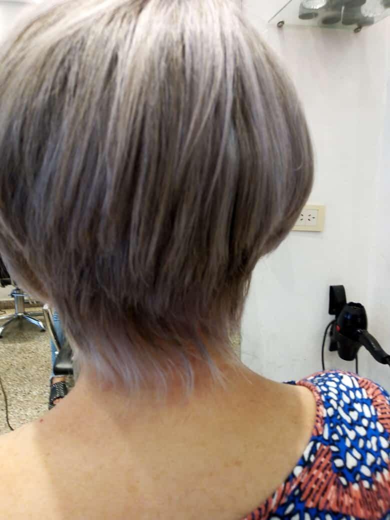 Corte de cabello corto para damas