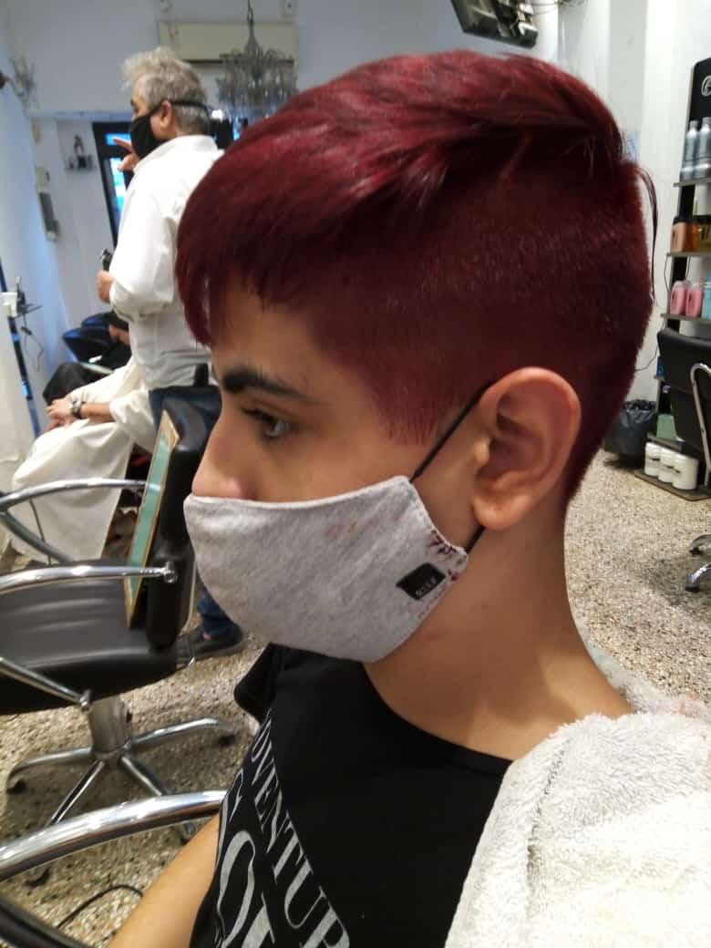 corte cabello corto para niños-lateral izquierdo