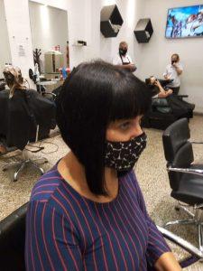 corte de cabello corto elegante-tres cuartos perfil derecho