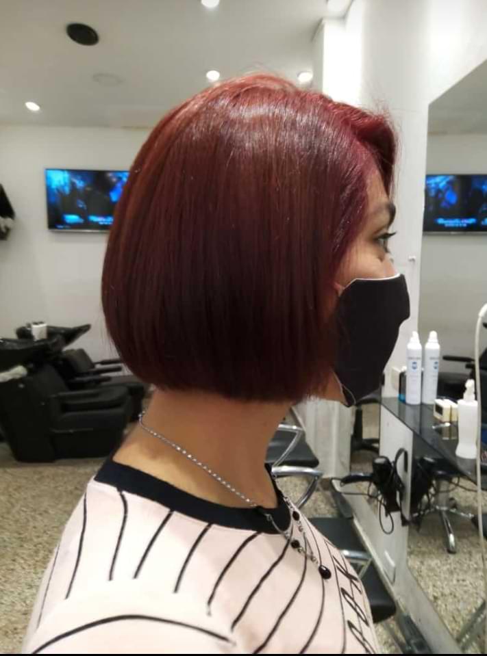 corte de cabello corto adolescente