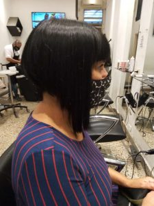corte de cabello corto mujer-lateral derecho