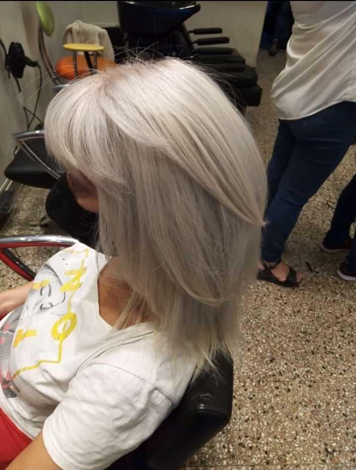 corte de cabello pelo lacio