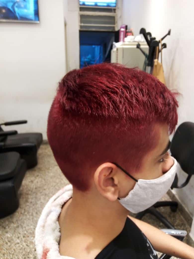 moderno corte de cabello para niños
